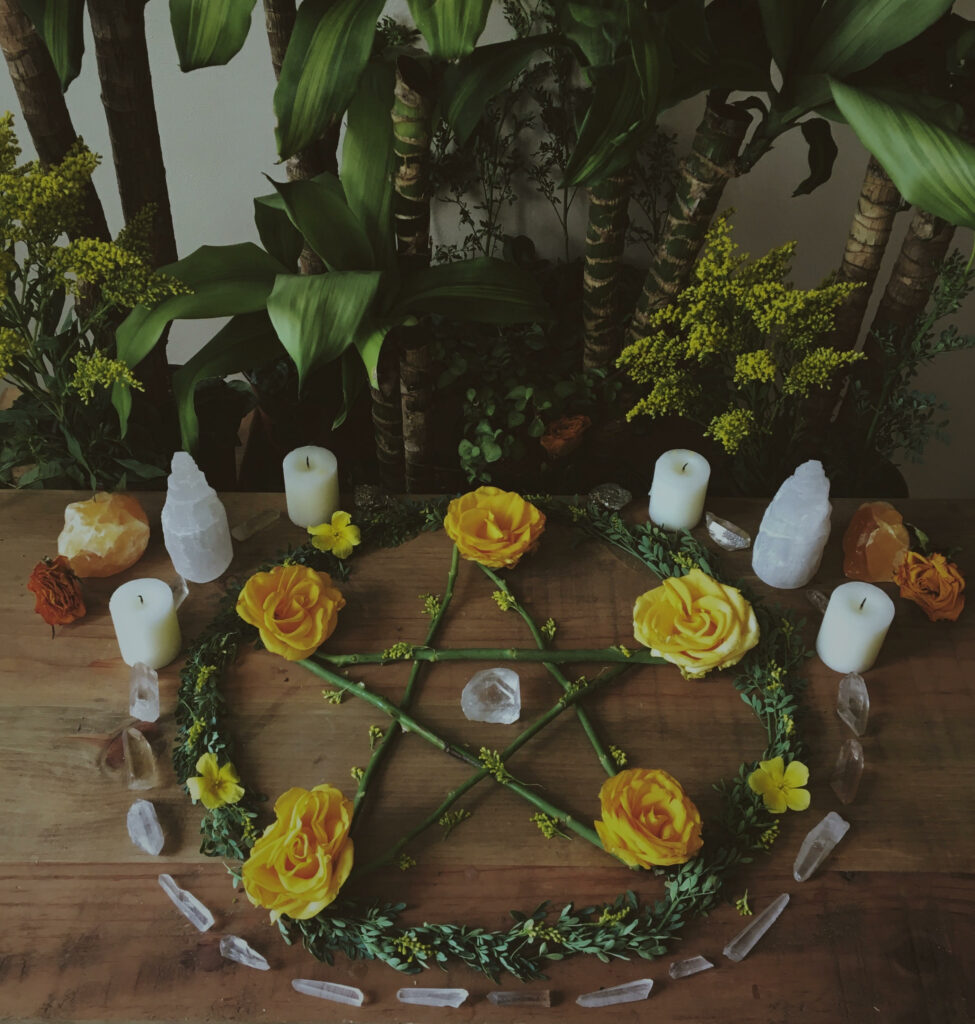 sollitary wicca practice